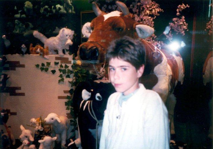 Estevão Simões Augusto em 1989